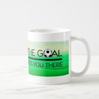 Lema SUPERIOR de la victoria del fútbol Taza De Café