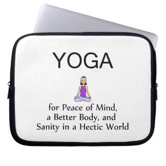 Lema SUPERIOR de la yoga Mangas Portátiles