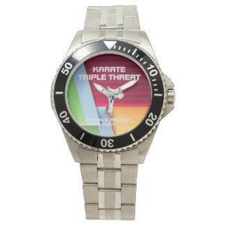 Lema SUPERIOR del karate Reloj