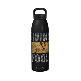 Lema SUPERIOR del salto Botella De Agua