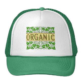 Lema verde orgánico gorras