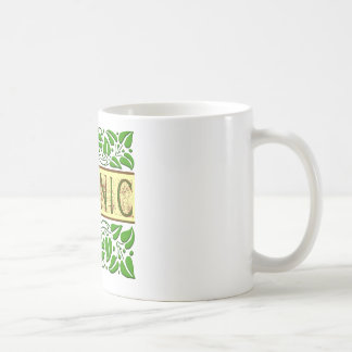 Lema verde orgánico taza clásica