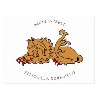 Lemas y heráldica latinos tarjetas postales