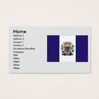Leme, Brazil Business Card