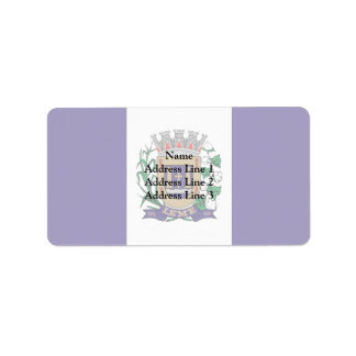 Leme Saopaulo Brasil, Brazil Personalized Address Labels
