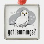 ¿lemings conseguidos? ornaments para arbol de navidad