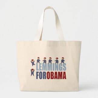 Lemings para Obama Bolsas