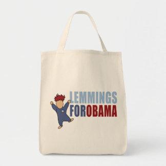 Lemings para Obama Bolsa