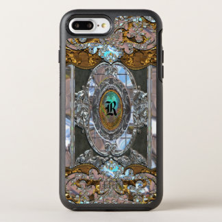 Lemmedeque Girl Pretty Pattern Protective Monogram OtterBox Symmetry iPhone 8 Plus/7 Plus Case