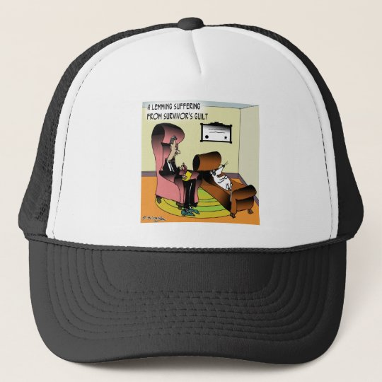 Lemming Survivor Guilt Trucker Hat