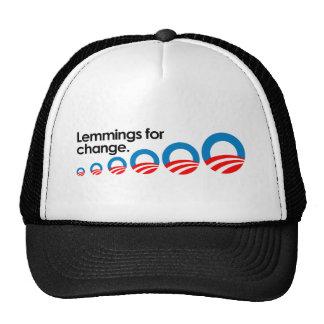 Lemmings for change trucker hats