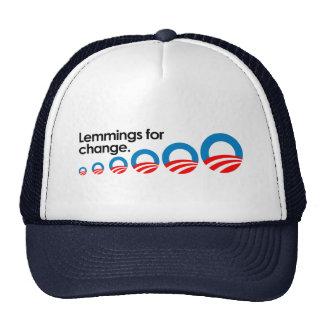 Lemmings for change mesh hat
