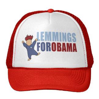 Lemmings for Obama Trucker Hat