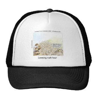 Lemmings Rush Hour Funny Trucker Hat