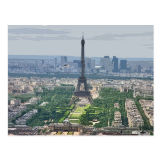 Lemmy Flyby 2, Eiffel Tower Postcard
