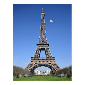 Lemmy Flyby, Eiffel Tower Postcard