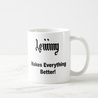 Lemmy Tazas De Café