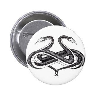 Lemniboros Serpens Button