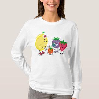 Lemon Aid design Long Sleeve T-Shirt