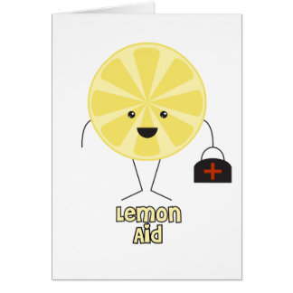 Lemon Aid Greeting Cards