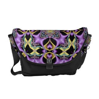 Lemon and Lilac No 1 Messenger Bag