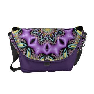 Lemon and Lilac No 3 Messenger Bag