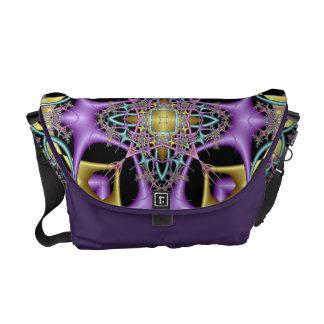 Lemon and Lilac No 4 Messenger Bag
