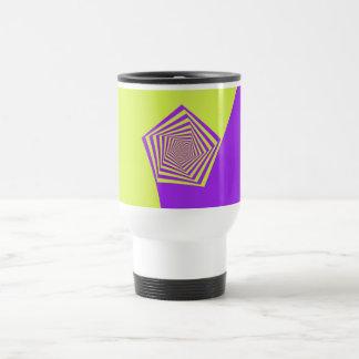 Lemon and Lilac Spiral Mug