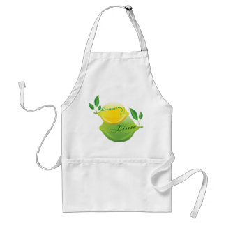 Lemon and Lime Adult Apron