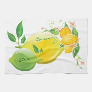 Lemon and Lime Hand Towel