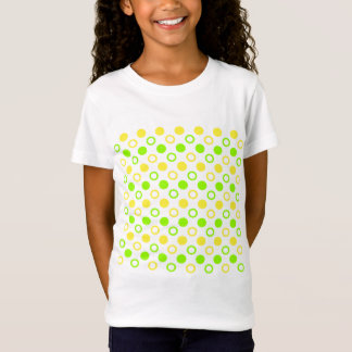 Lemon And Lime Rings And Polka Dots T-Shirt
