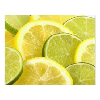 Lemon and Lime Slices Card