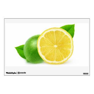 Lemon and lime wall sticker
