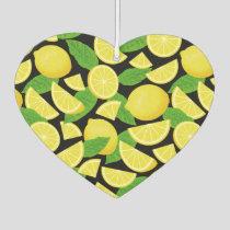 Lemon Background Air Freshener