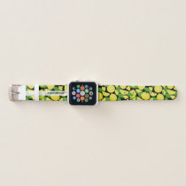 Lemon Background Apple Watch Band