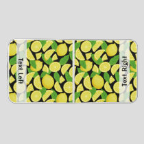 Lemon Background Beer Pong Table