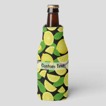 Lemon Background Bottle Cooler