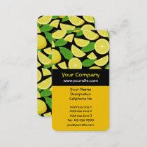 Lemon Background Business Card