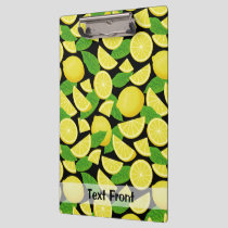 Lemon Background Clipboard