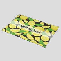 Lemon Background Cloth Placemat