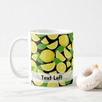 Lemon Background Coffee Mug