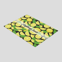 Lemon Background Doormat