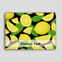 Lemon Background Envelope