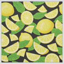 Lemon Background Fabric