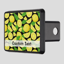 Lemon Background Hitch Cover