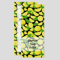 Lemon Background Invitation