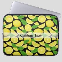Lemon Background Laptop Sleeve