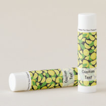 Lemon Background Lip Balm