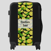 Lemon Background Luggage