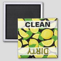 Lemon Background Magnet